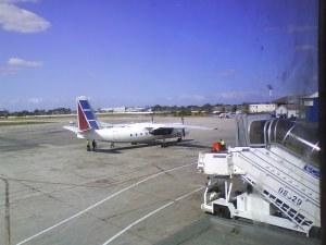 Aeropuerto de baracoa febrero 2009